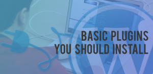Basic plugins you should install