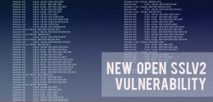 New vulnerability at Open SSLv2: Drown Attack