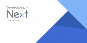 Google Cloud Next 2017