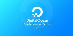 Free Monitoring Service of Digital Ocean