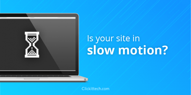 Is your site running in slow motion? Test your website performance