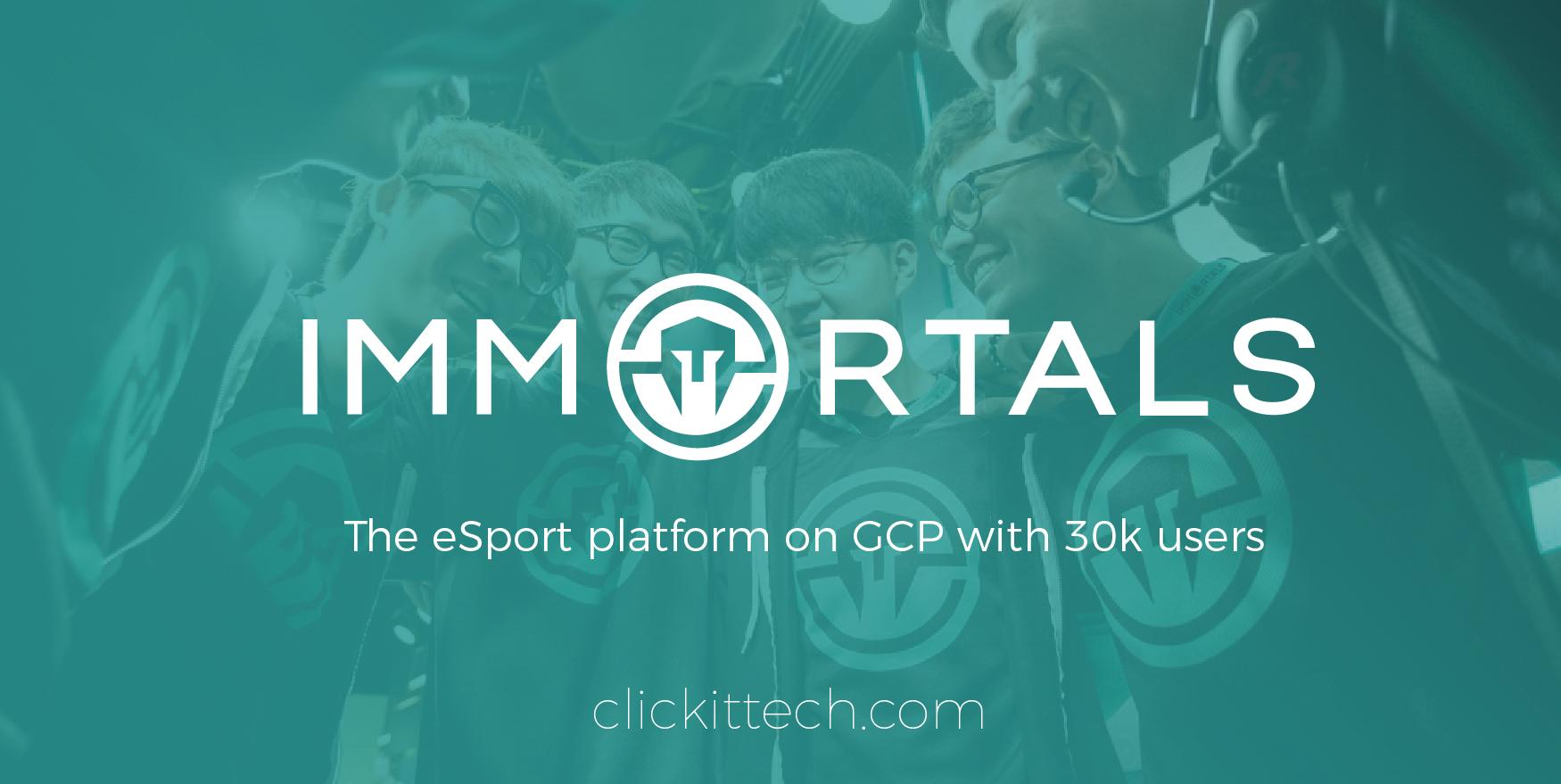 Immortals – How this WordPress app handles high traffic on Google Cloud
