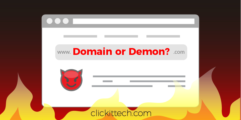 Domain or Demon? Buying a Website Domain