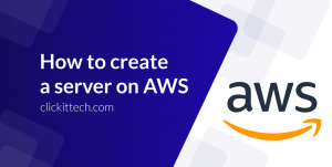 How to create a server on AWS