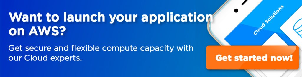 launch your application on aws