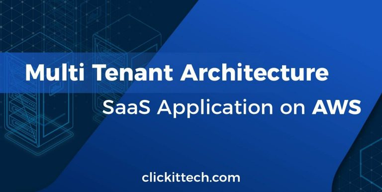 multi tenant architecture saas application on aws