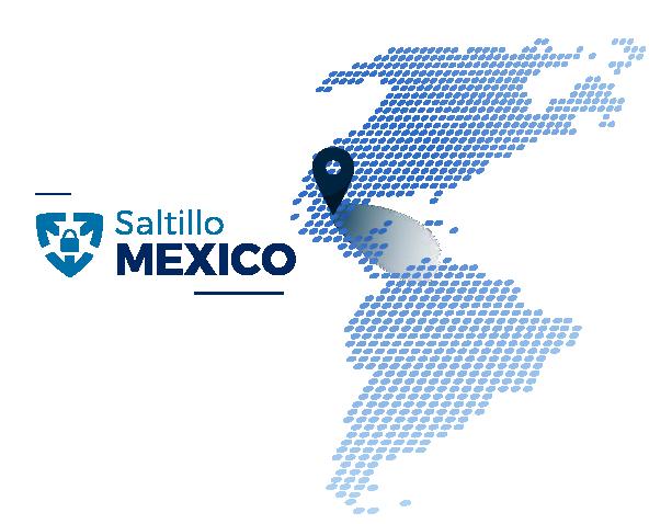 Saltillo Location Map