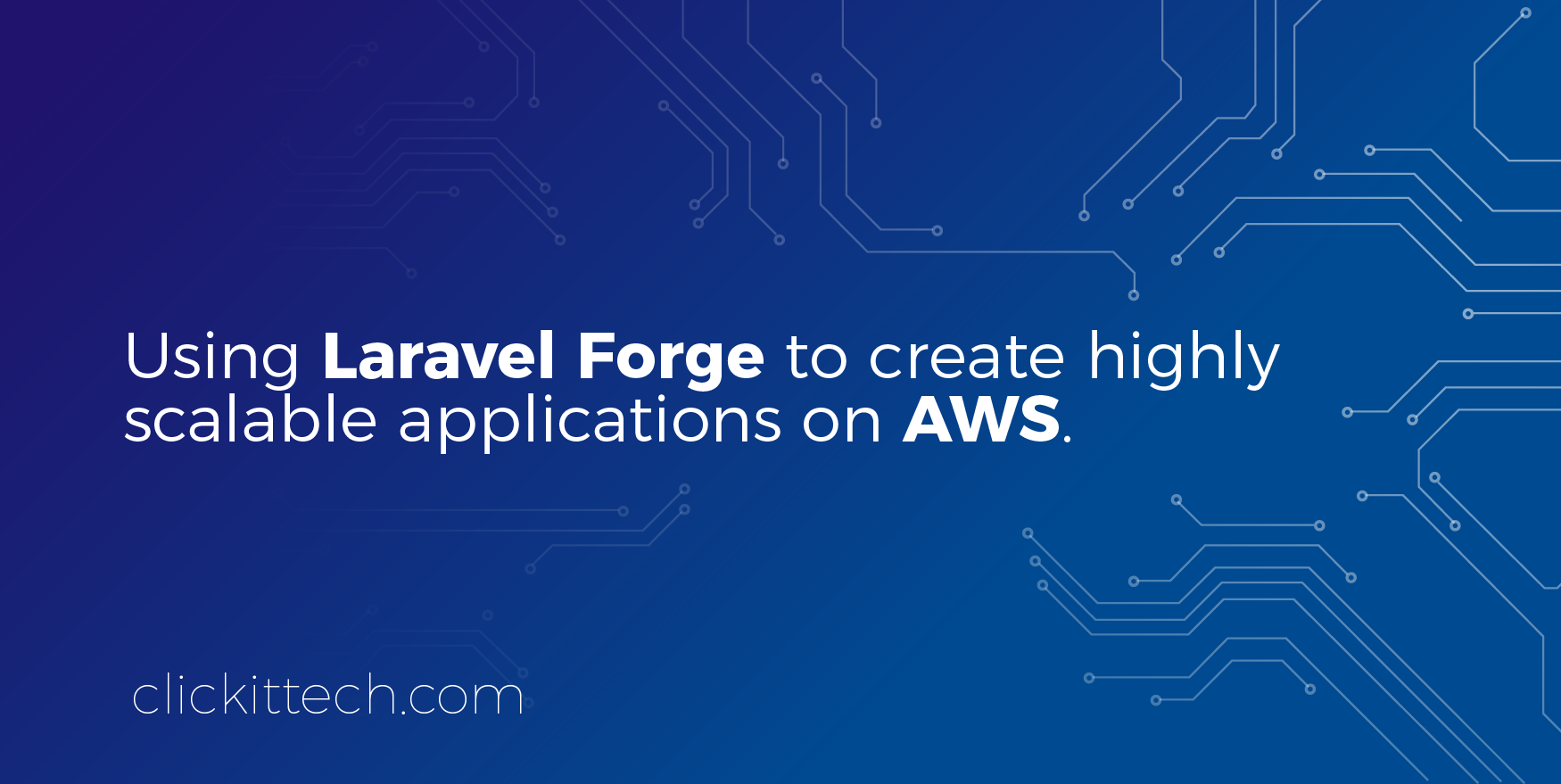 laravel forge on AWS