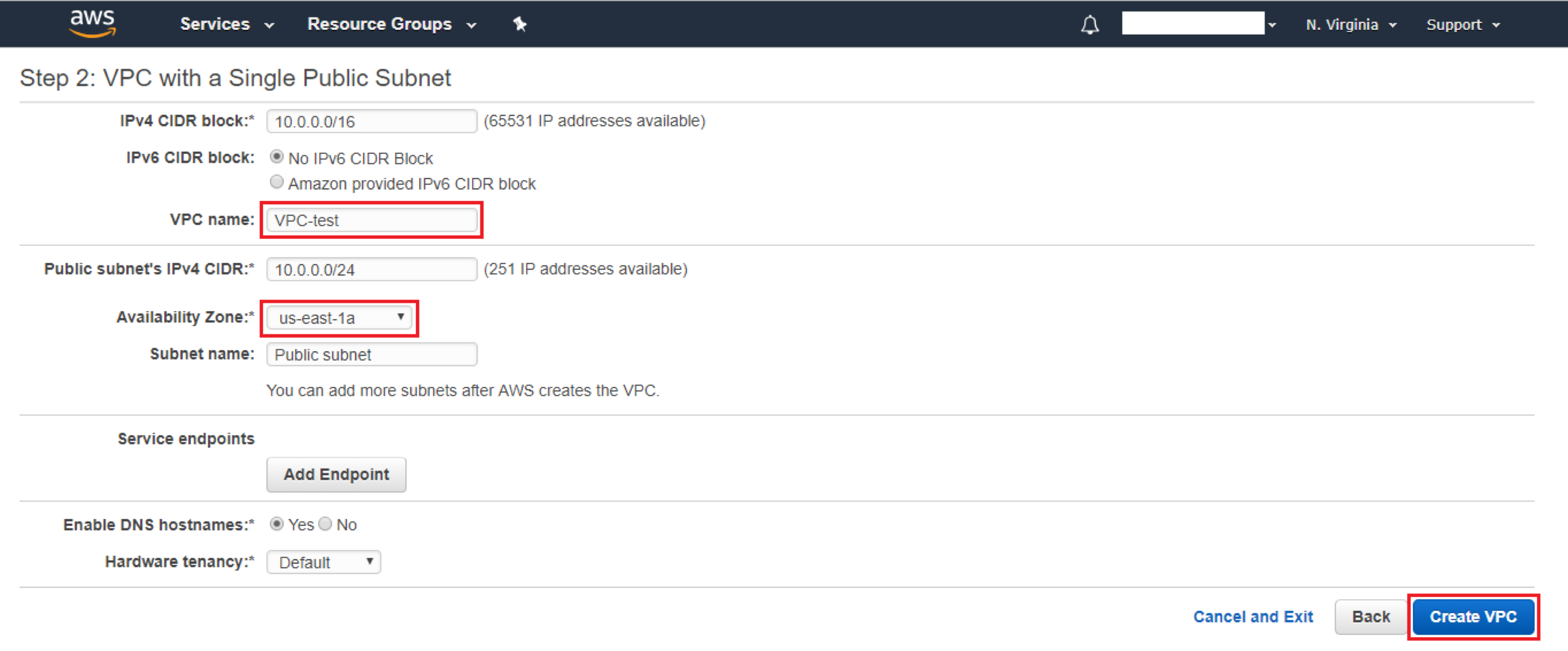 Creating VPC on AWS - Image 4