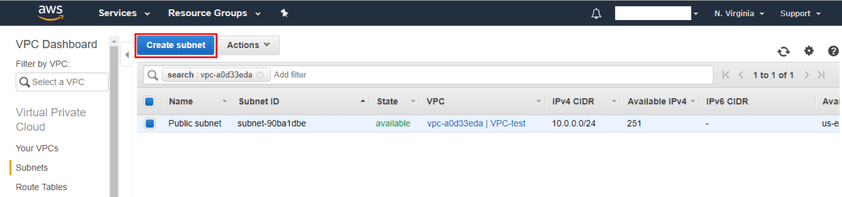 Creating VPC on AWS - Image 7