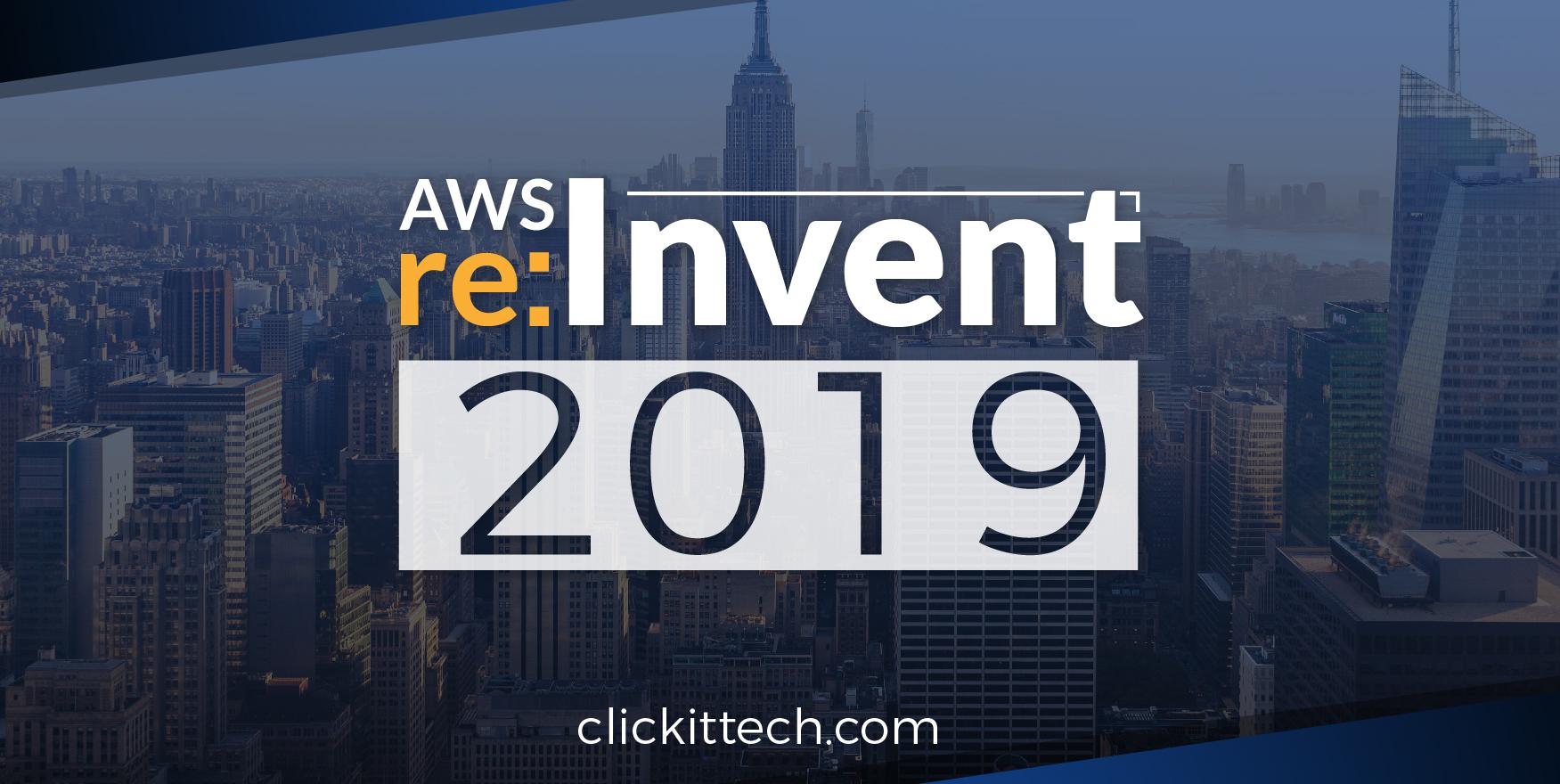 AWS reinvent 2019