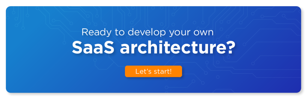 SaaS architecture