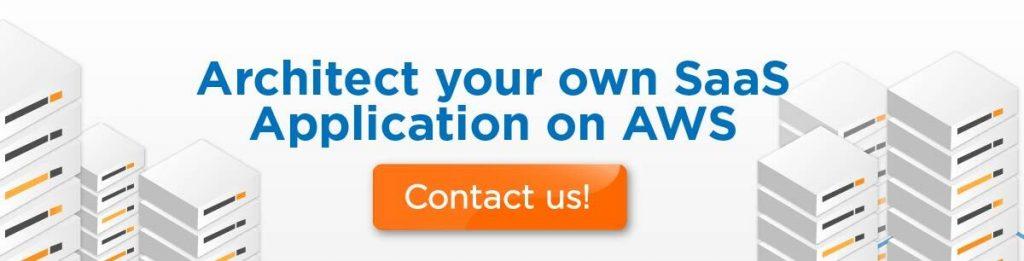 SaaS application on AWS