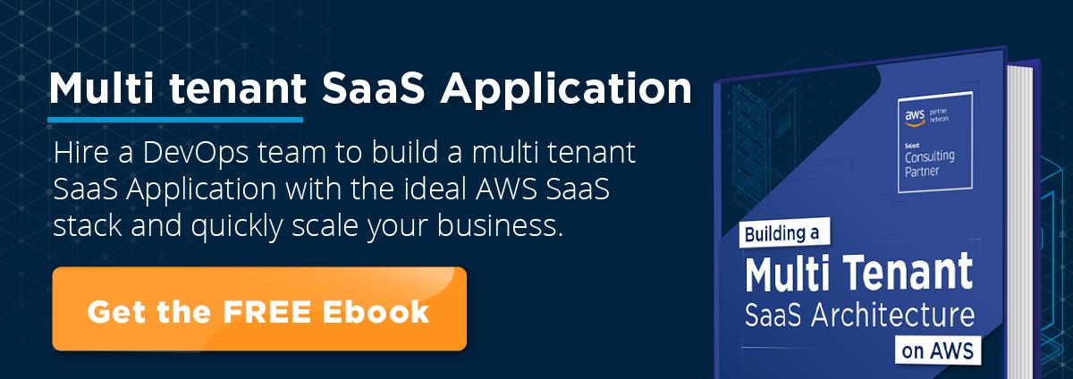 multi tenant saas application ebook