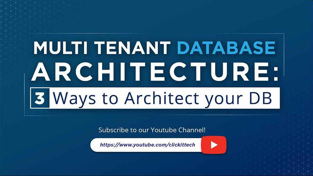 multi tenant database architecture