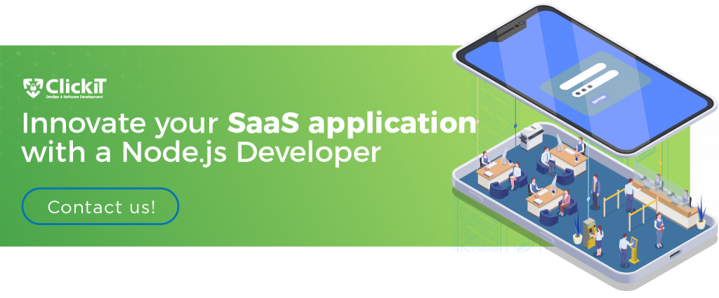 innovate your saas app with a node.js developer